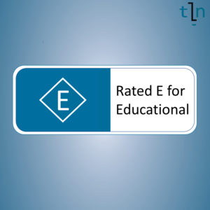 Rated E for Educational Logo